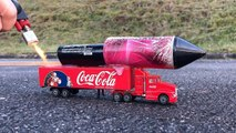 Rocket powered Coca Cola Truck ! Will it Fly