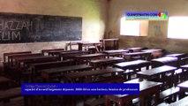 Collège Thyndel (Labé) :_capacité d'accueil largement dépassée, 2000 élèves sans latrines, besoins de professeurs