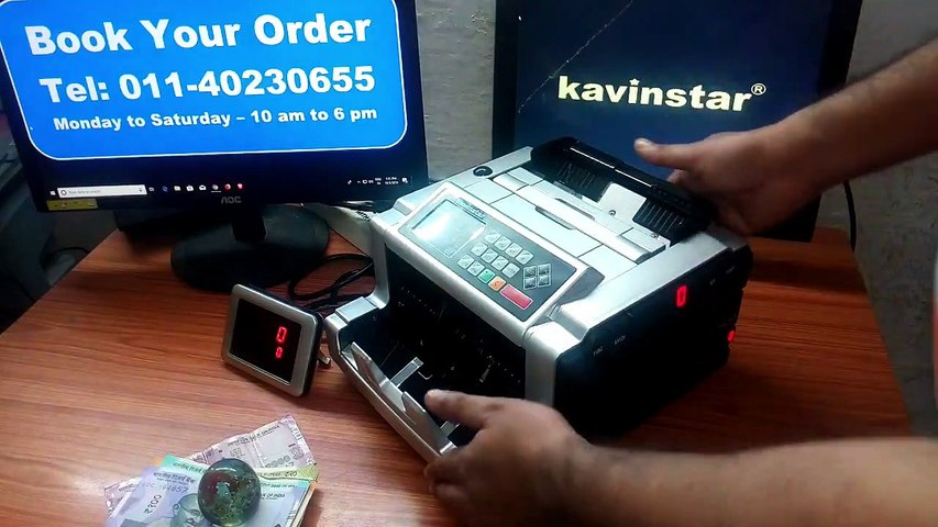 MIXMASTER - MIX NOTE COUNTING MACHINE WITH FAKE NOTE DETECTOR