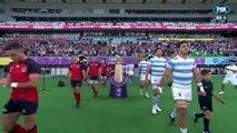 England vs Argentina RWC 2019 National Anthems