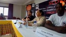 Patricia Myriam Isimat-Mirin et Olympe Konan expliquent le choix des Centres d'observation des mineurs d'Abidjan et de Bouaké