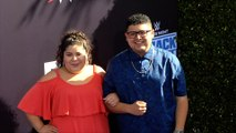 Raini and Rico Rodriguez WWE 20thAnniversary Celebration Event Blue Carpet