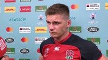 Farrell post match interview