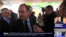 Les images de François Hollande et du petit fils de Jacques Chirac lors de l'hommage à l'ancien Président en Corrèze
