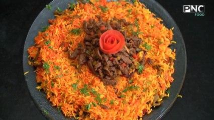 طريقة عمل أرز بسمتي باللحمة  كل يوم جديد مع الشيف محمد إبراهيم