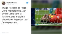 Équipe de France. Terrible blessure pour Hugo Lloris, sorti sur civière avec Tottenham