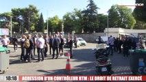 Contrôleur agressé à la RTM : le personnel a fait valoir son droit de retrait