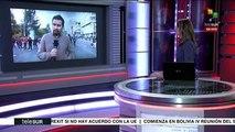 teleSUR Noticias: Más de 350 detenidos en protestas en Ecuador
