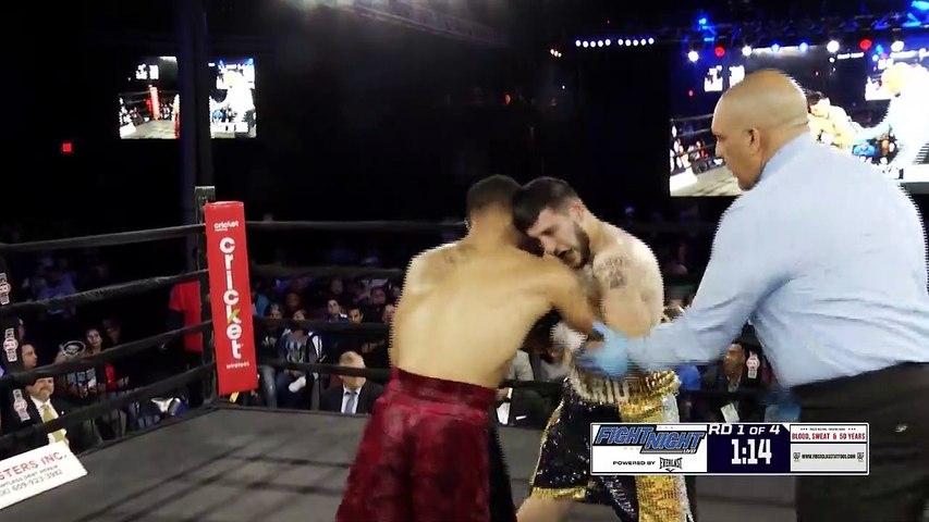 Vinnie Denierio vs Seifullah Jihad Wise (04-10-2019) Full Fight