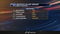 Patriots Injury Report: Julian Edelman, Dont'a Hightower Listed As Questionable