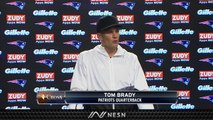 Tom Brady On Patriots' Offensive Line Protection