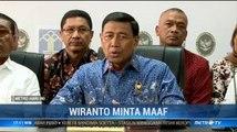 Wiranto Minta Maaf ke Masyarakat Maluku