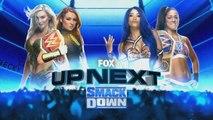 Smackdown - Becky Lynch & Charlotte Flair vs. Sasha Banks & Bayley