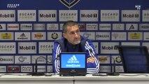 Bastia 1-0 Ste Geneviève : Conf. d'après-match de S. Rossi