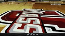 UMass Unveils New Basketball Court