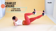 Charlee Atkins' 6-Move Mini Band Workout