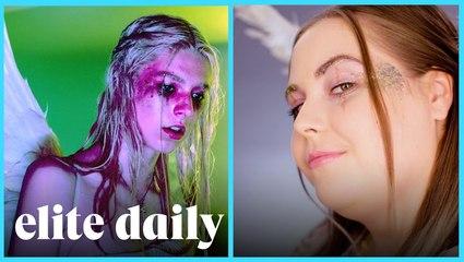 Ready in 5 Challenge: Euphoria Inspired Halloween Makeup