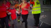 Au semi-marathon de Nivelles, Lysandre a fini la course loin de sa joëlette