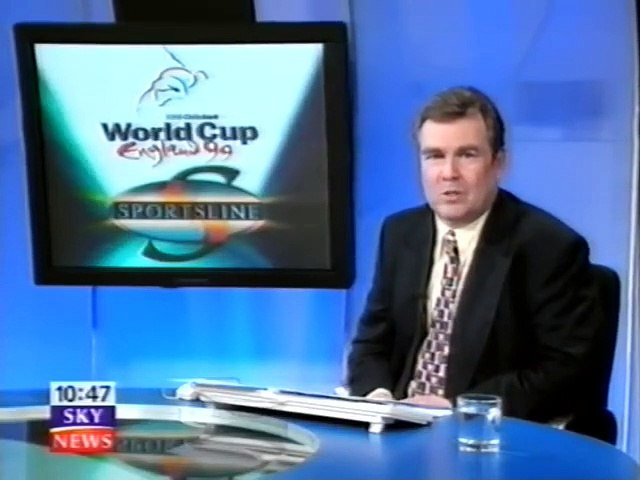 Cricket World Cup 1999 - England v Zimbabwe