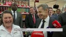 Nicolas Sarkozy en dédicace à Provins