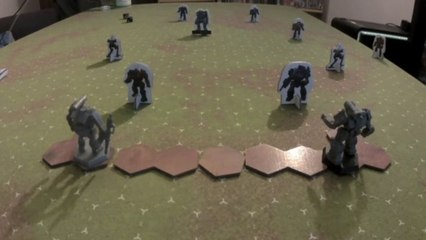 Battletech Shooting Range