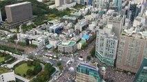 '세 대결' 거리의 정치...민주주의 경고음 / YTN