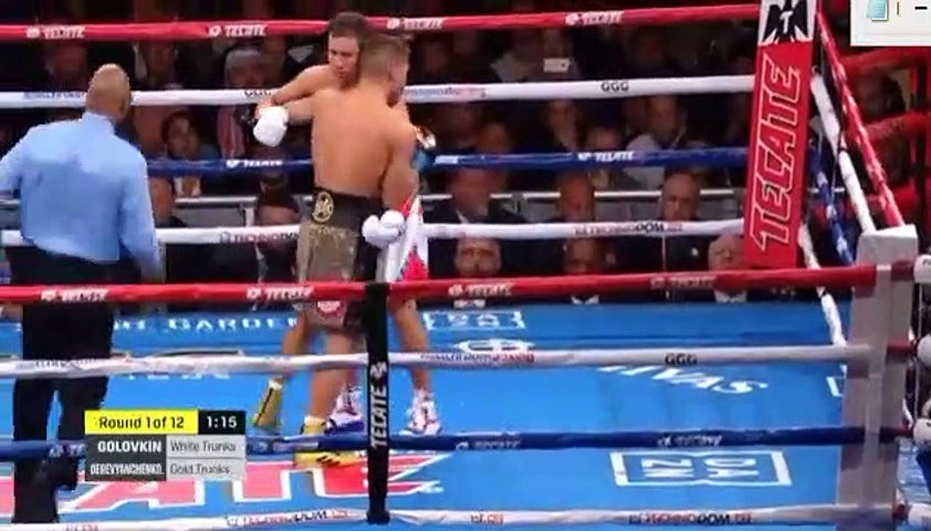 Gennadiy Golovkin vs Sergiy Derevyanchenko Full Fight Video 05.10.2019