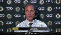 Bruins Coach Bruce Cassidy Pleased With Offensive Performance Thus Far