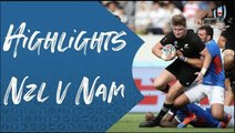 Highlights: New Zealand v Namibia - Rugby World Cup 2019