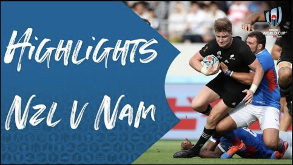 Highlights: New Zealand v Namibia – Rugby World Cup 2019