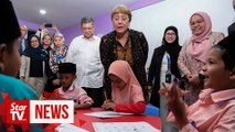 UN human rights chief visits KL, calls for better treatment of refugees