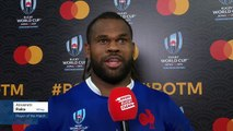 Alivereti Raka wins Player of the Match for France v Tonga