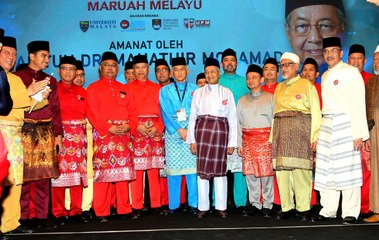 Ucapan penuh Tun Dr. Mahathir Mohamad dalam Progrem Kongres Maruah Melayu