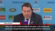 All Blacks allowed Namibia to compete more than they should - Hansen