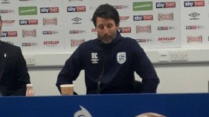 Huddersfield Town manager Danny Cowley on Hull City win