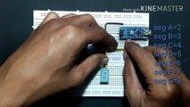 Seven Segment Display Counter - Arduino Project - How To Make Seven Segment Display