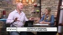 NESN Pregame Chat: Patriots at Redskins, NFL Week 5
