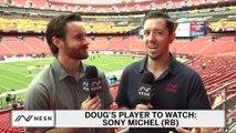 Sony Michel The Focus In Week 5 Patriots vs. Redskins