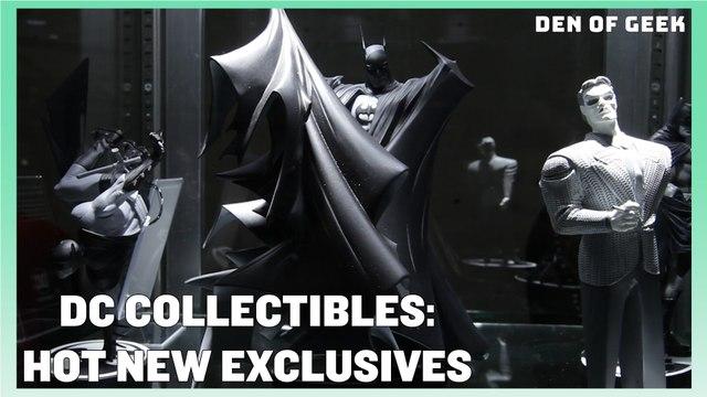 DC Collectibles' Batman: Black and White Statues | New York Comic Con 2019