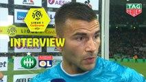 Interview de fin de match : AS Saint-Etienne - Olympique Lyonnais (1-0)  - Résumé - (ASSE-OL) / 2019-20