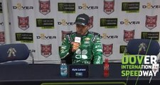 Larson on championship hopes: 'Chip away at the deficit'