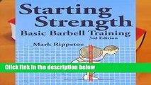 [BEST SELLING]  Starting Strength: Basic Barbell Training