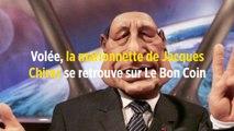 Volée, la marionnette de Jacques Chirac se retrouve sur Le Bon Coin