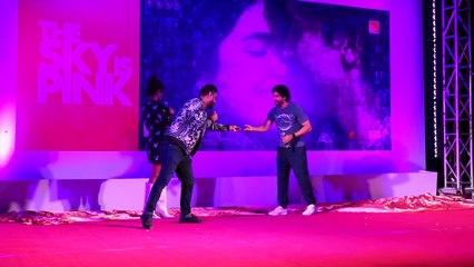 Priyanka Chopra & Farhan Akhtar Of 'The Sky Is Pink' Unveil 'The Beautiful Wall Of Love'