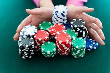 El valor de las fichas de póquer