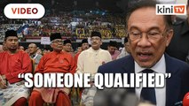 Anwar: Select finance minister based on qualifications, not race