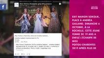 Miss France 2020 : qui est Andréa Galland, la nouvelle Miss Poitou-Charentes ?