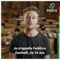 Devenez membre du Conseil Parisien de la Jeunesse. Témoignage de Federico Zambelli.