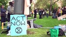 Extinction Rebellion: coup d'envoi en Australie de deux semaines d'action pour le climat