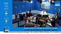 Quentin Lamotte, candidat RN à la mairie de Toulouse